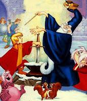 El mago Merlín, según Disney