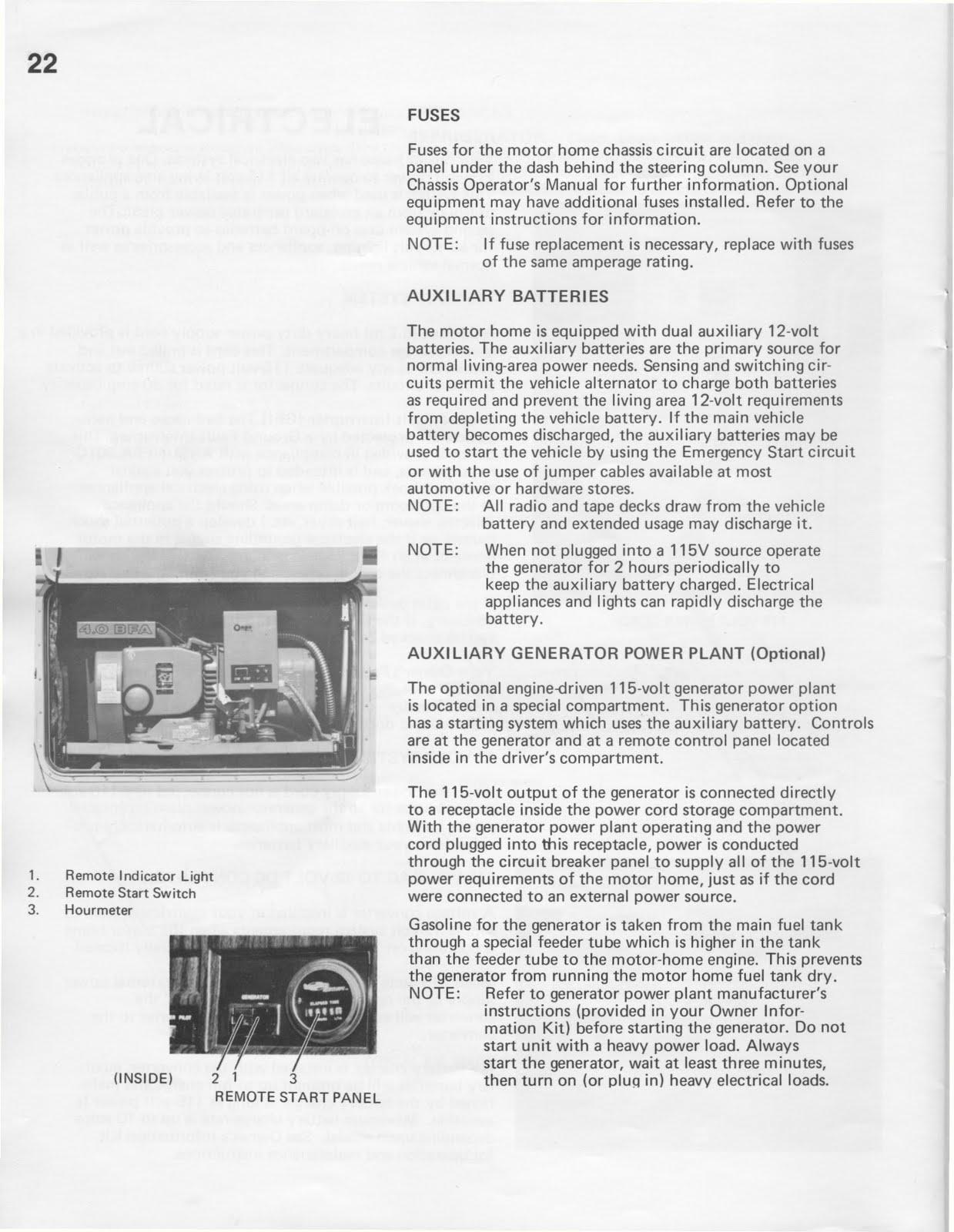 1983 fleetwood pace arrow owners manual [ 1239 x 1600 Pixel ]