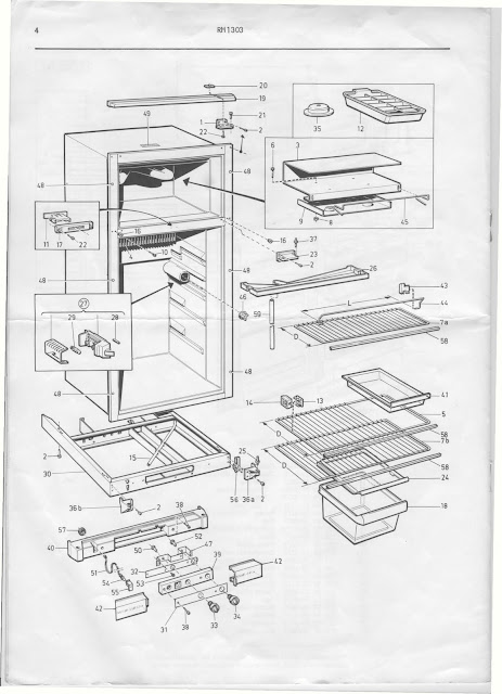 dometic refrigerator parts schematic 1983 fleetwood pace arrow owners manuals: dometic ... kenmore refrigerator parts diagram