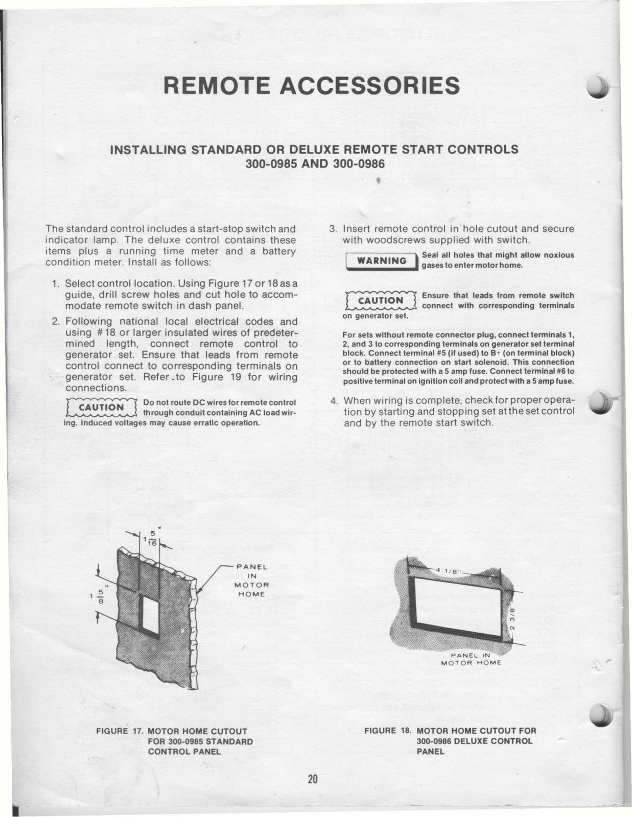 medium resolution of onan 4 0 kw bfa genset operators manual posted by vintage travel trailers at 11 19 am