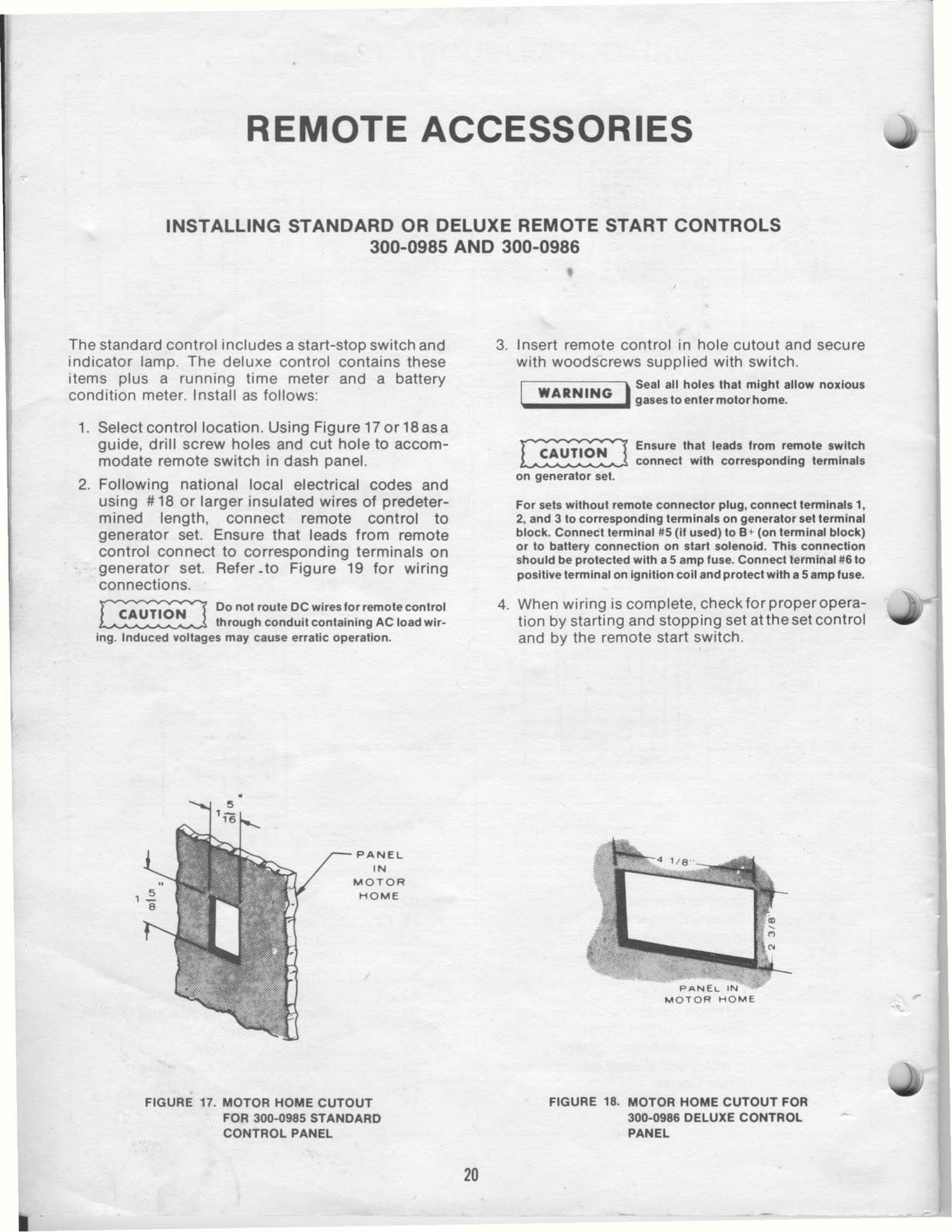 Onan Generator Manual 1983