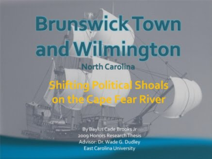Brunswick Town & Wilmington