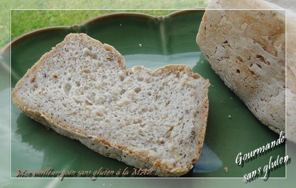 Mon meilleur pain sans gluten à la MAP