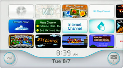I think I am the only person who loves the Wii channels