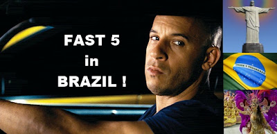 Fast Five Film in Brasilien