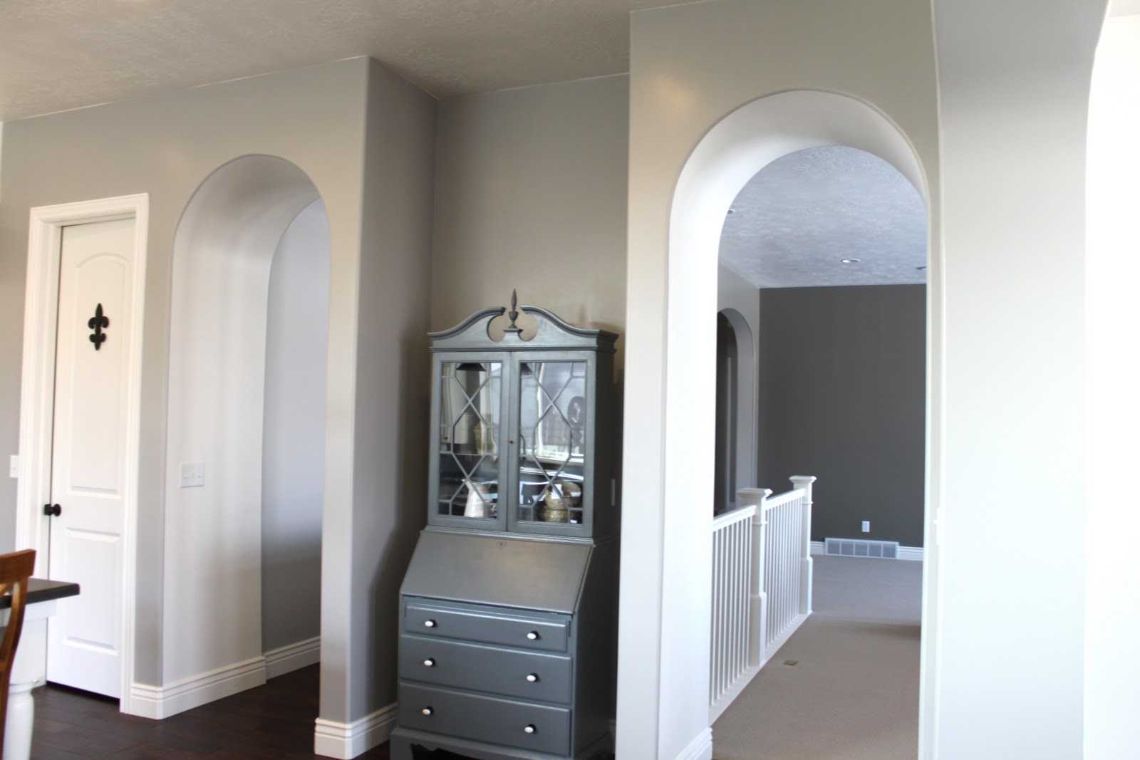 Paint color benjamin moore ozark shadows lights over island from home depot 35 hardwood floors by ark the french collection color maple kahlua