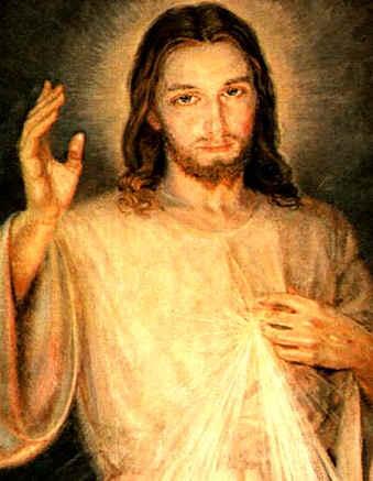 Jezus Przedłużenie miłosiernych dłoni Boga