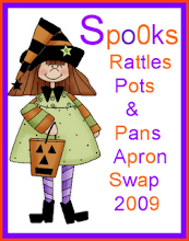 Aunt Pitty's Pats Halloween Apron Swap