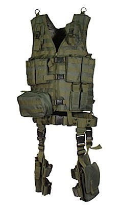 Bug Out Molle Ultimate Tactical Gear 10 Piece Complete