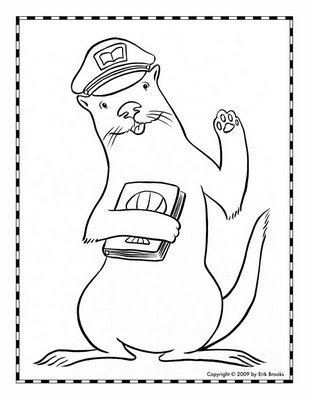 Sea Otter Coloring Pages for Kids