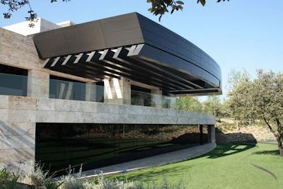 Russian House Modern Zen House Design In Spain By A Cero