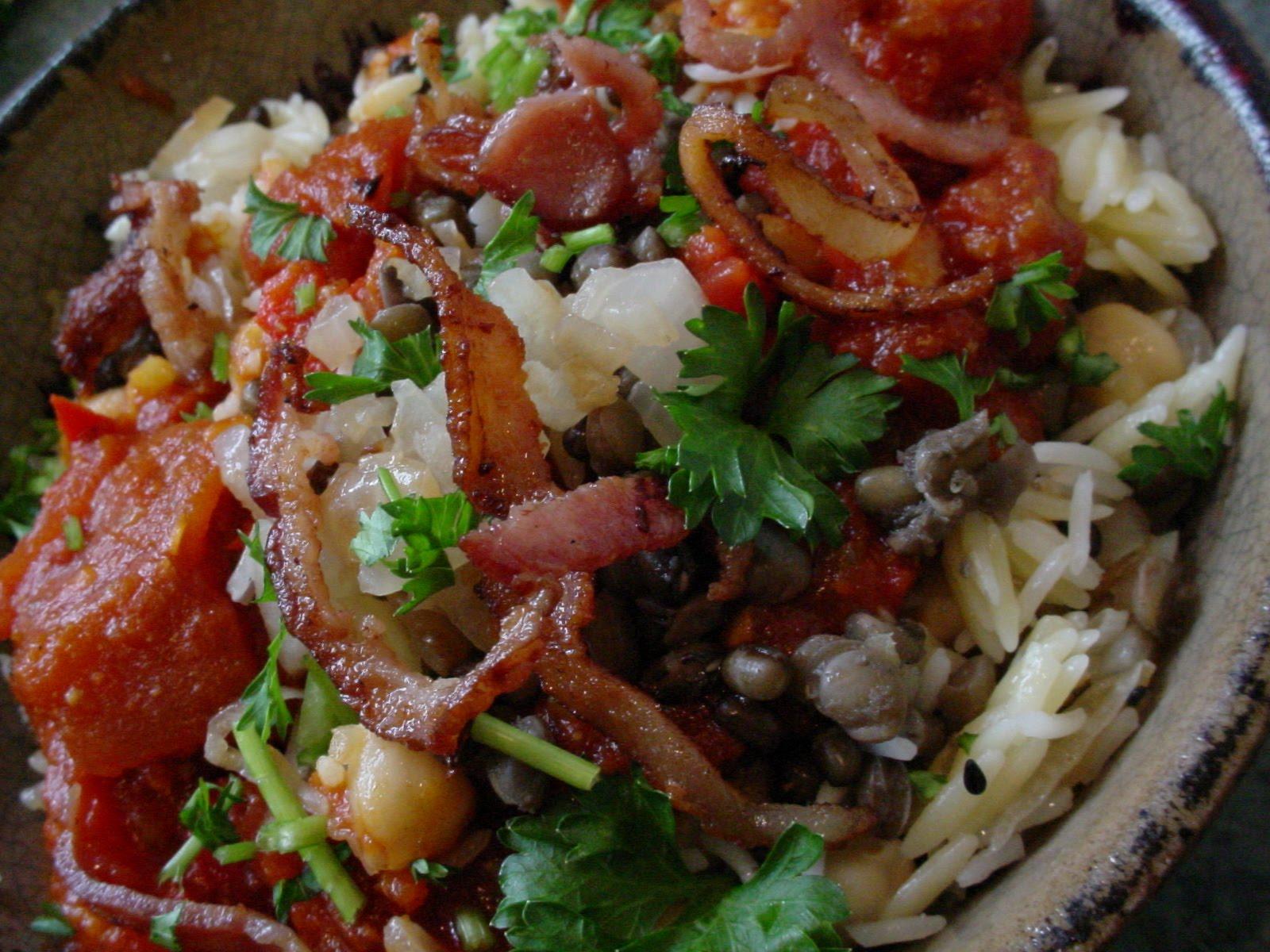 Koshari Street Food