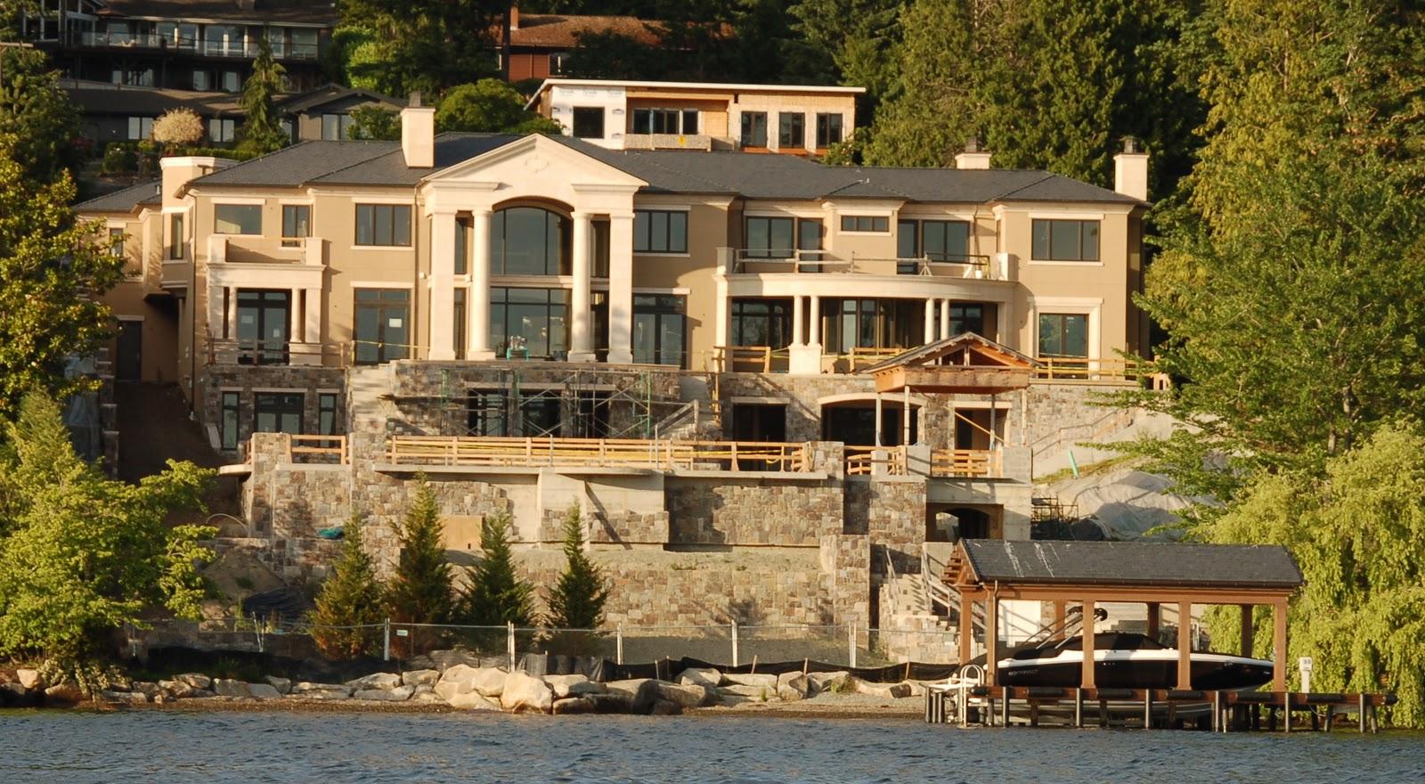 Seattle mansions mercer island mansion 28 8 million for Mansion prices