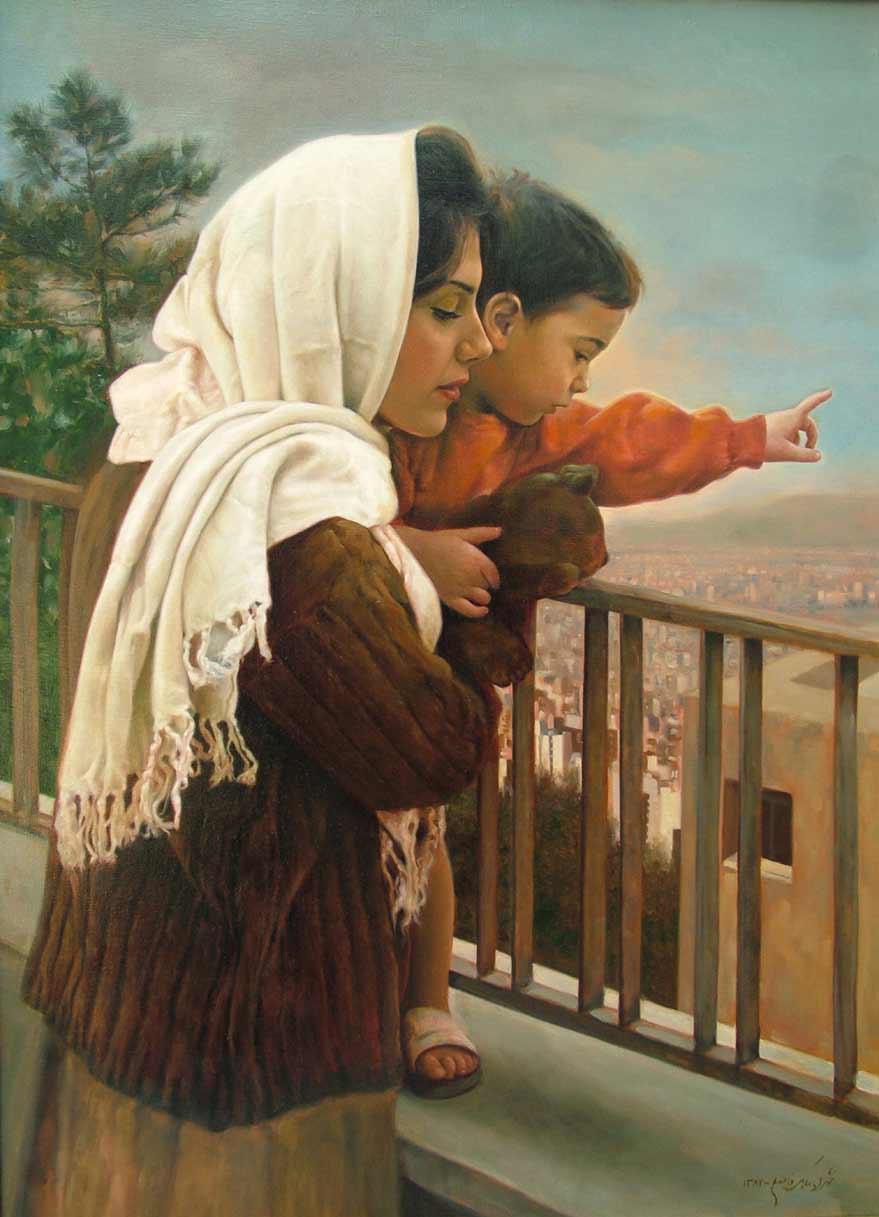 Naari Naari.............: Mother's love paintings......