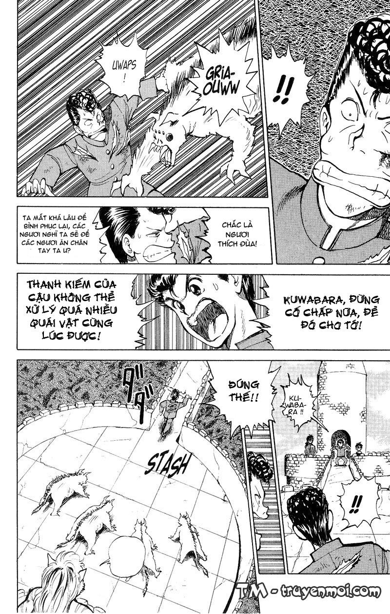 Hành trình của Uduchi chap 036: tiếng gầm của byakko trang 15