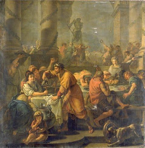 L 39 hostaria der curato un po 39 de cucina dell 39 antica roma for Cucina romana antica