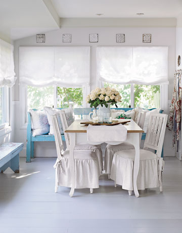 Dining Chair Slipcovers Kitchen