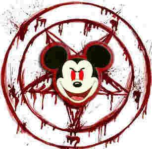Disney e seus desenhos subliminares e demoníacos.