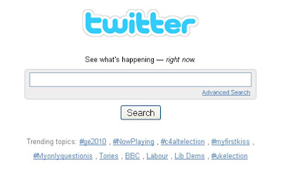 UK election Twitter Trends results night 2230