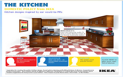 Gordon Brown IKEA kitchen