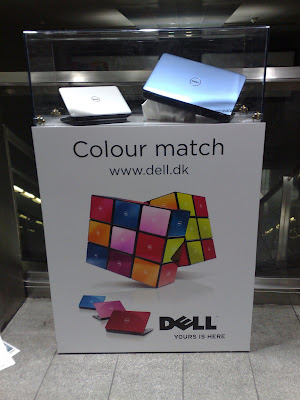 Dell Colour Match Norreport station display