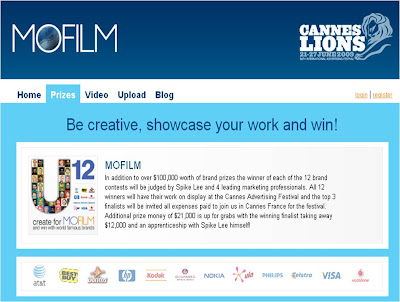 MoFilm Cannes competition