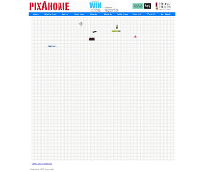 Pixahome win a house homepage