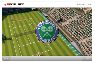 EA Grand Slam tennis Facebook App