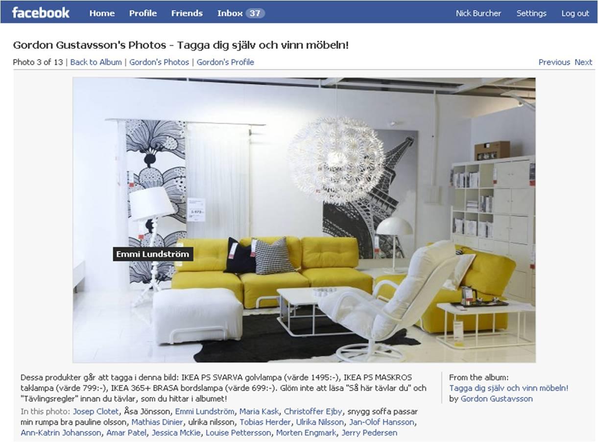 Facebook Ikea