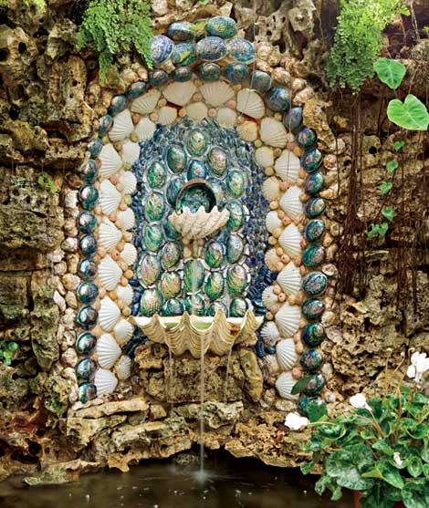 Shell Large Mosaic Kitchen Tile