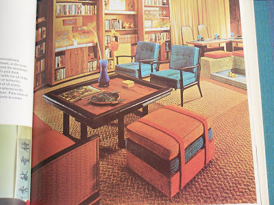 1965 Red Living Room
