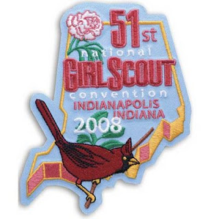 51st girl scout convention patch