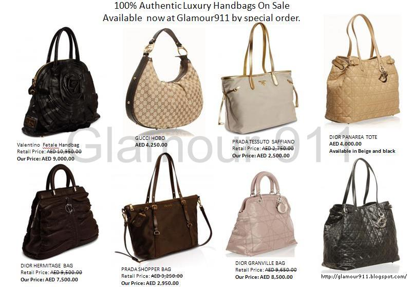 Authentic Handbags On Sale Available Now at Glamour911