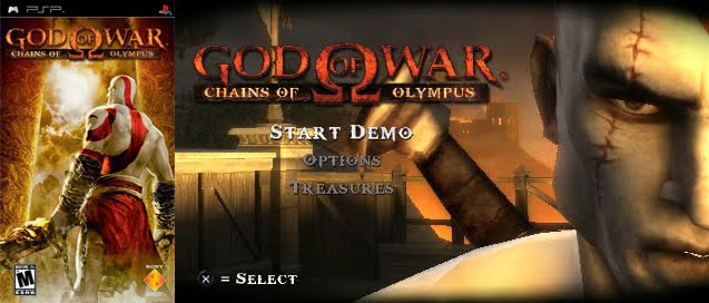 Psp Demo Game: God of War Chains of Olympus psp demo