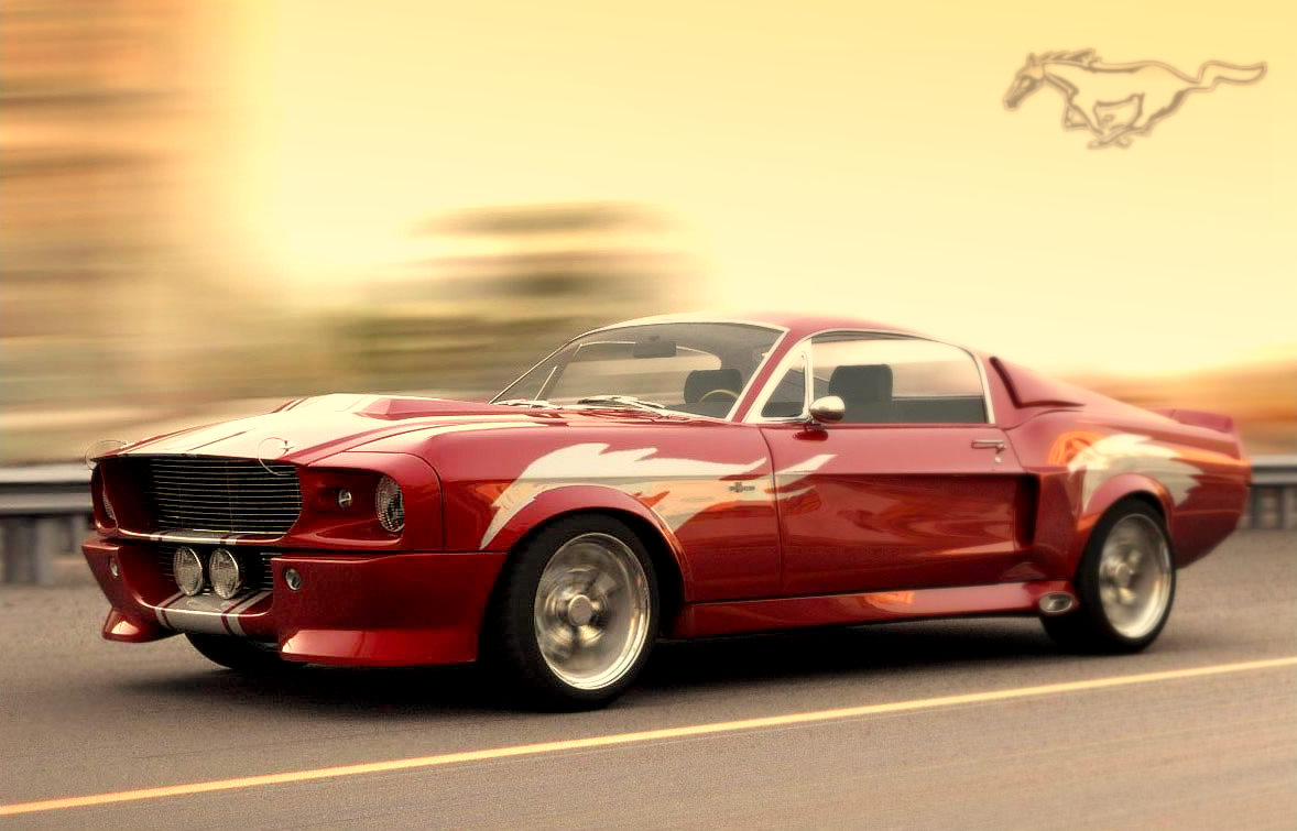 coches deportivos ford mustang shelby del 67 cobra. Black Bedroom Furniture Sets. Home Design Ideas