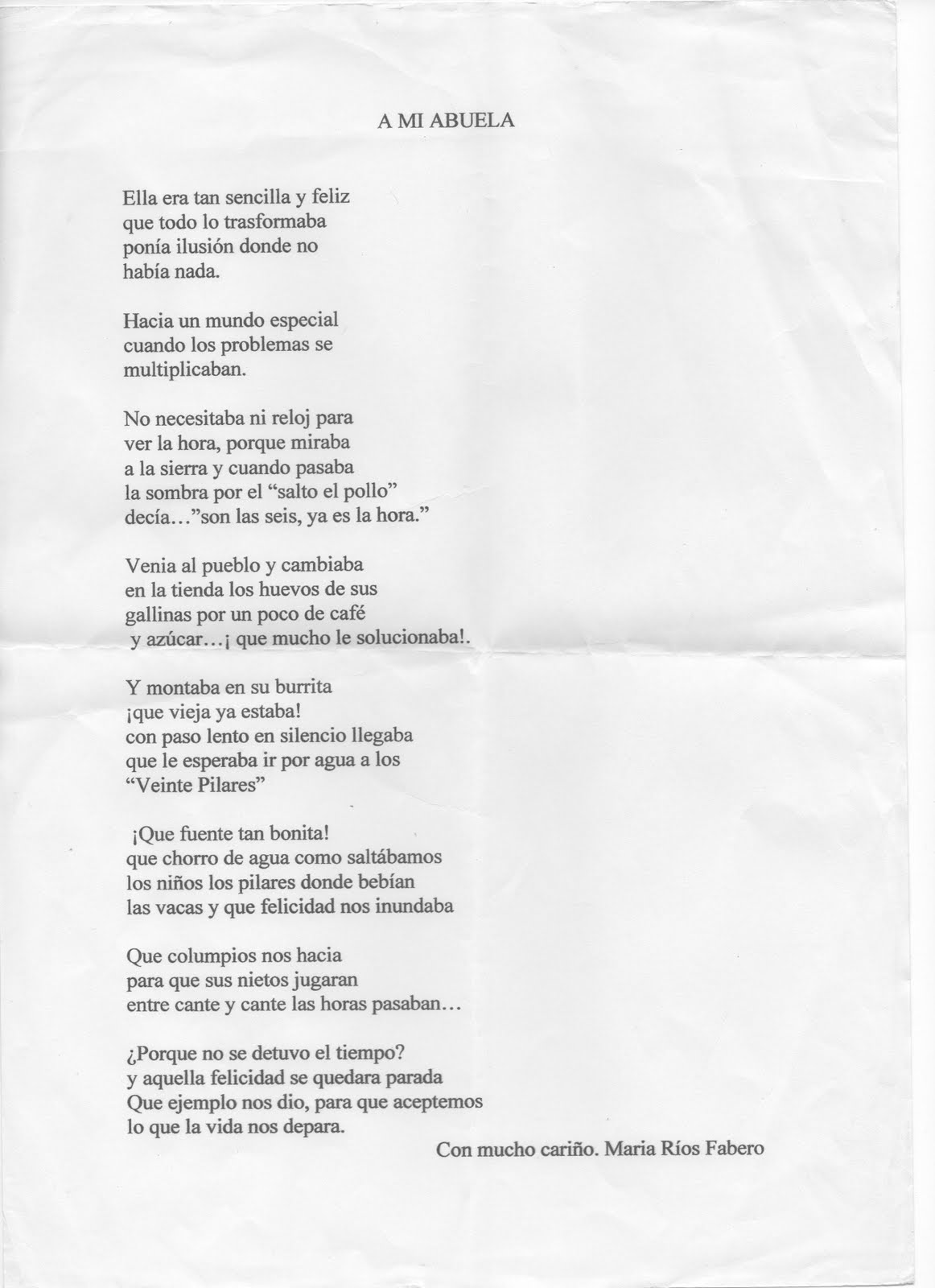 Abuela Poemas Para Fallecidos Www Imagenesmy Com