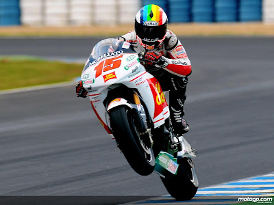Jarvis Varnado Moto Gp In Action Wallpapers