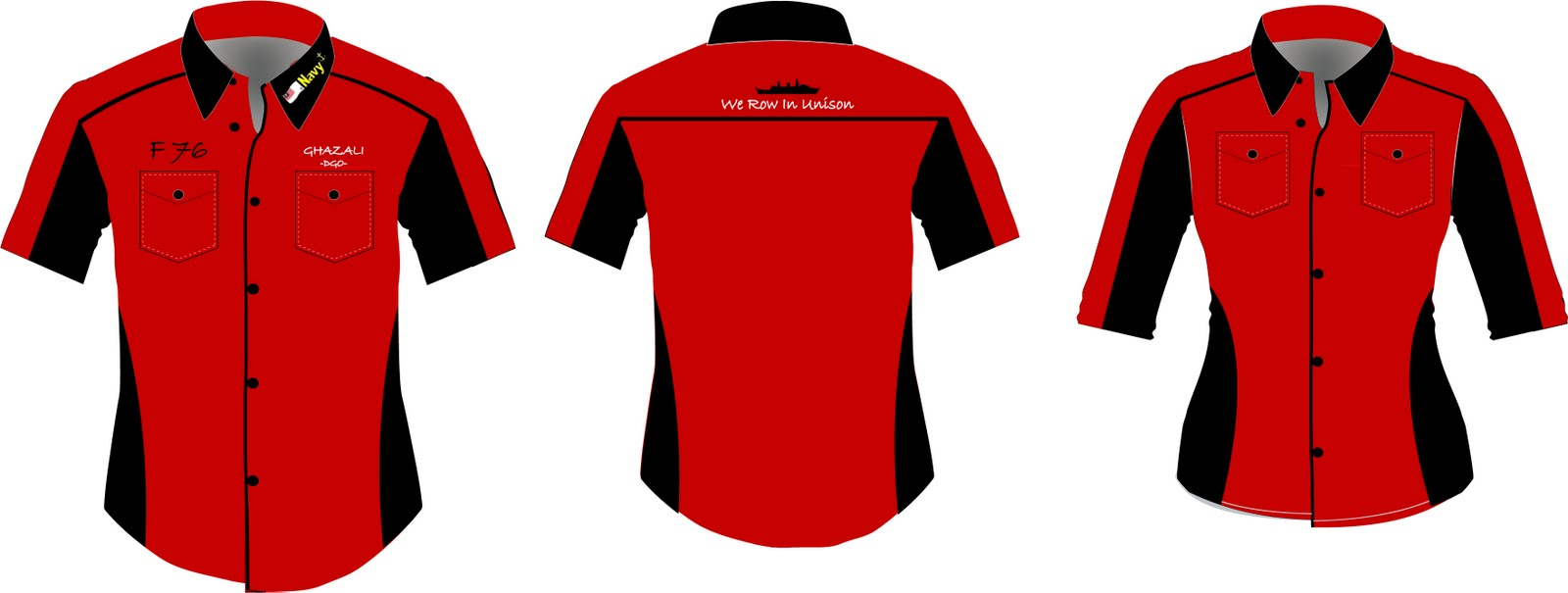 Kemeja Korporat F1 Shirt Corporate Shirts