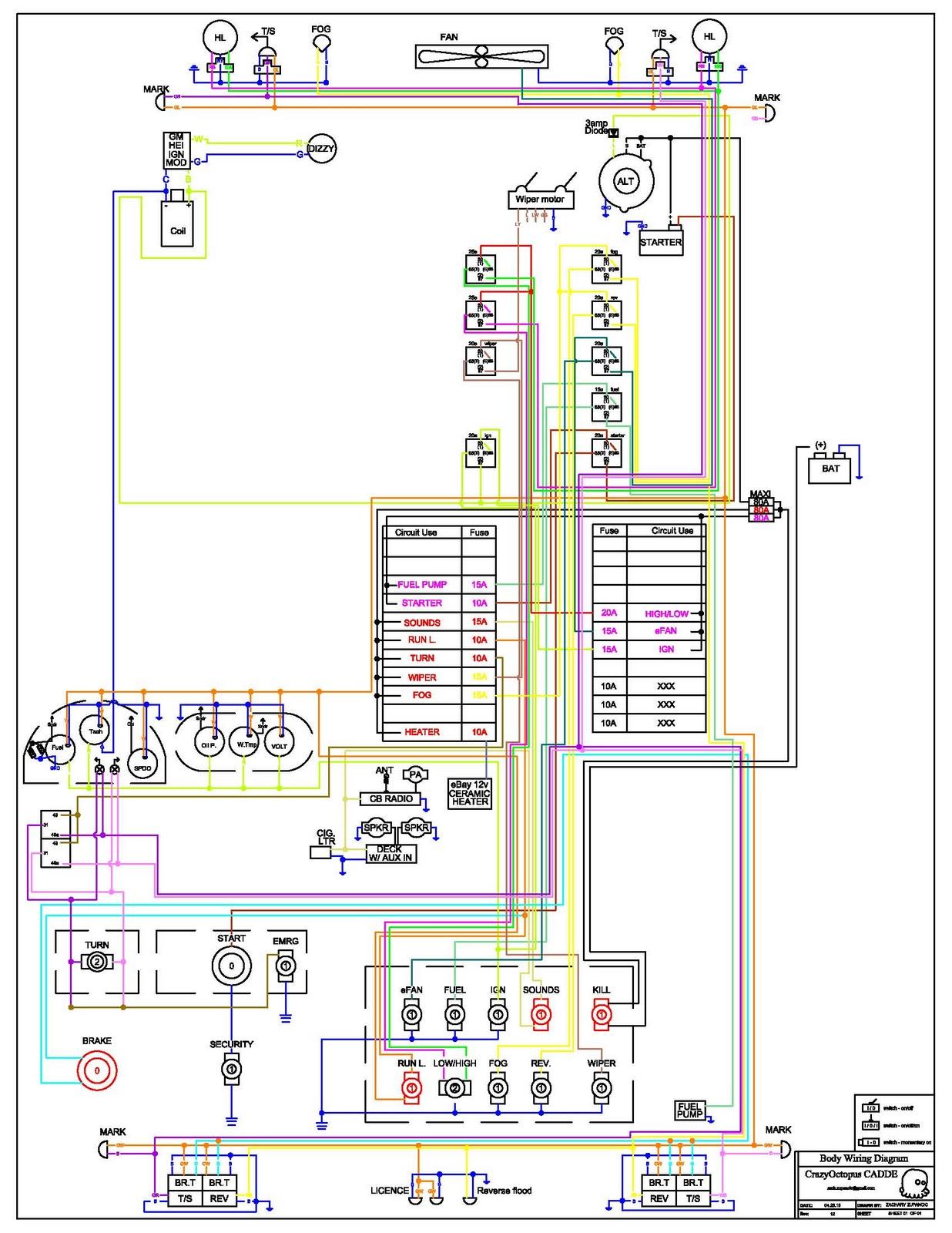 My 240Z: Wiring