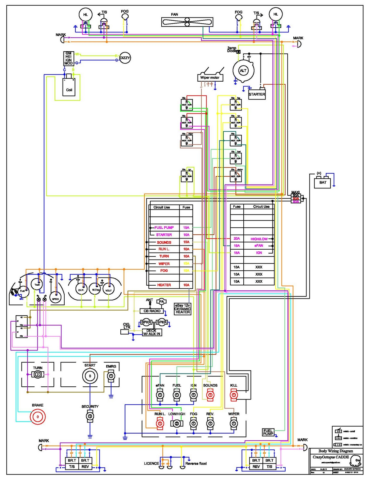 small resolution of my 240z 240z wiring r12 my 240z datsun 240z wiring diagram at cita