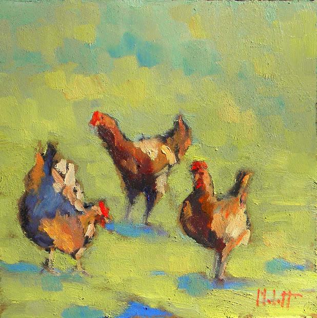 Art Painting And Prints Heidi Malott Chicken