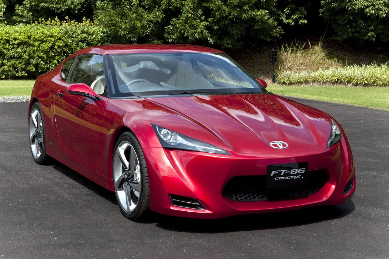 2009 Toyota FT-86 Concept Wallpaper