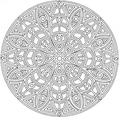 100 Pentru Copii Mandala 5 8 Ani Imagini De Colorat