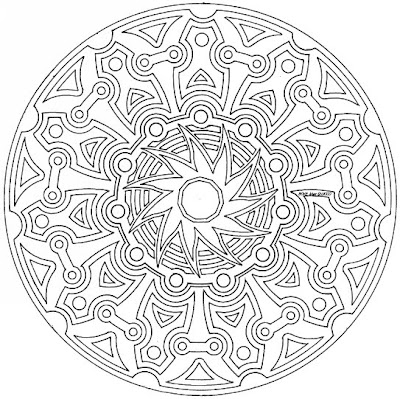 100 Pentru Copii Mandala 8 12 Ani Imagini De Colorat