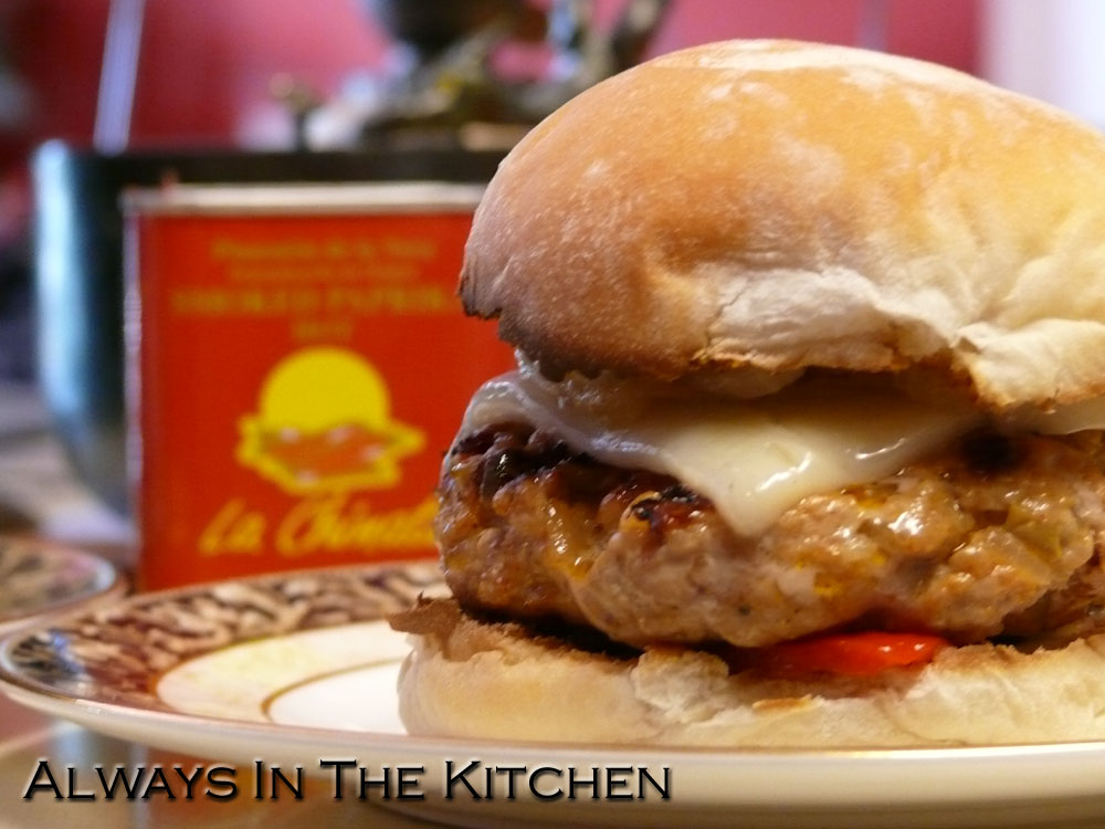 Spanish pork burger recipe