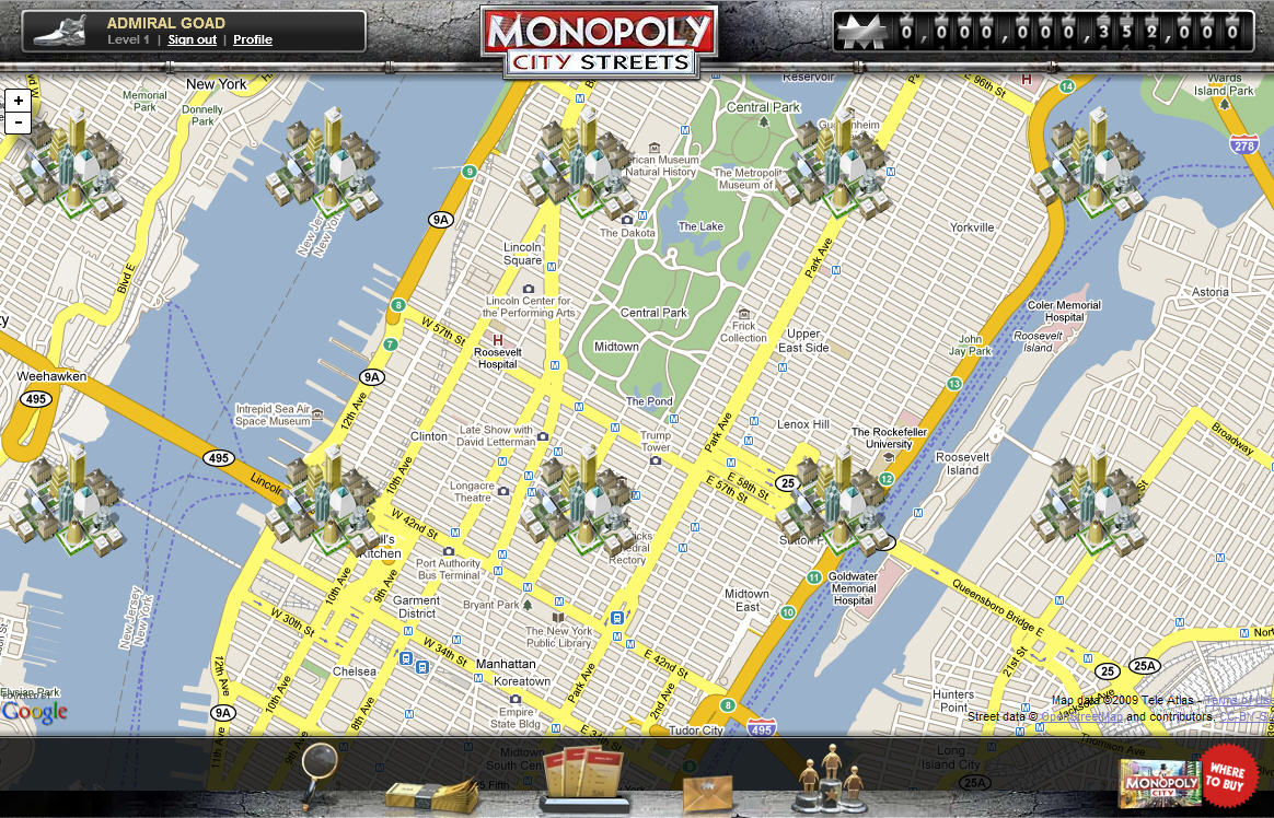 Cannes lions serious games blending monopoly google maps wins gold gumiabroncs Gallery