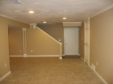 Finished Basement, Stairwell area after