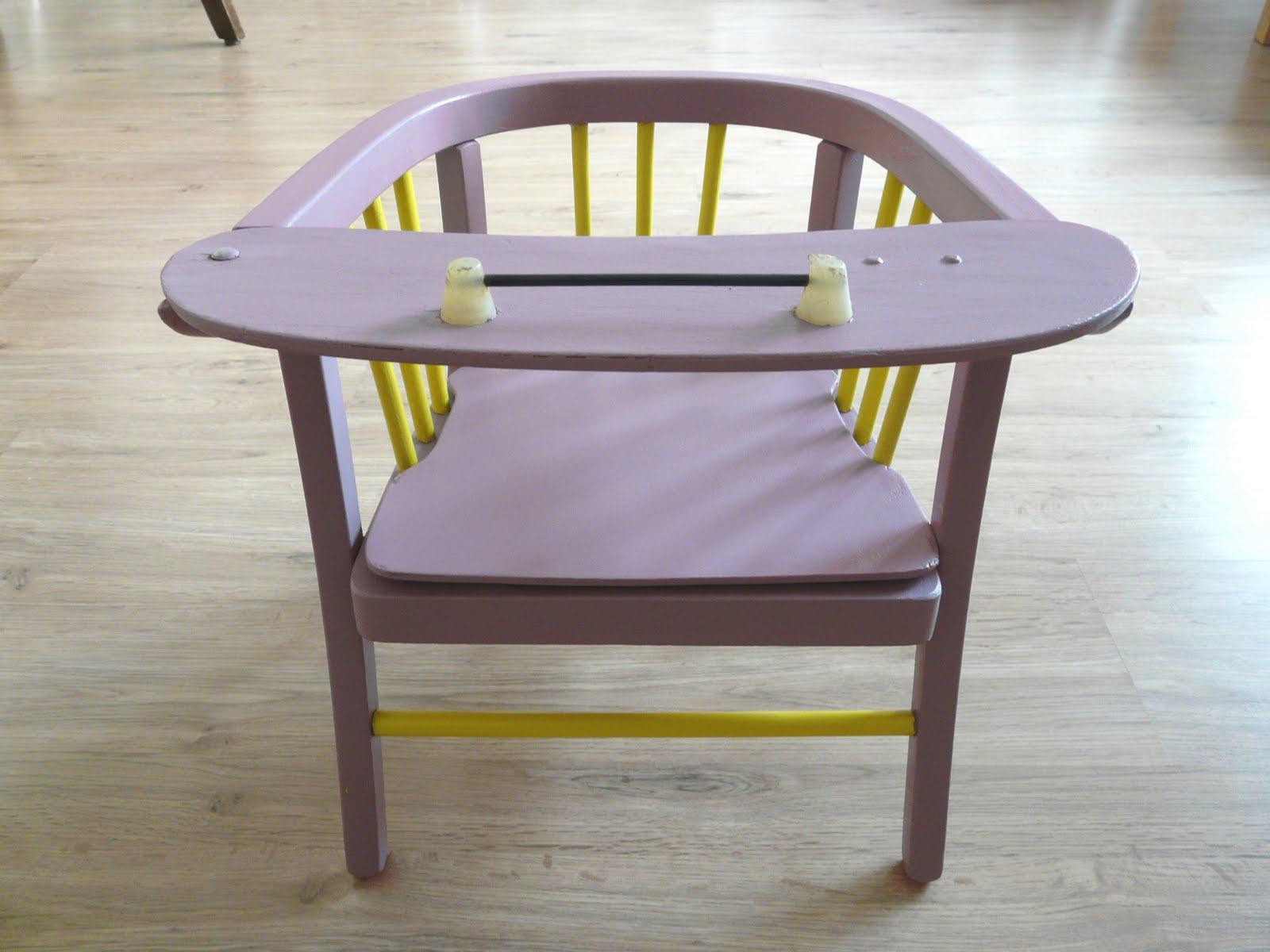 bahia la f e petite chaise de b b avec pot. Black Bedroom Furniture Sets. Home Design Ideas