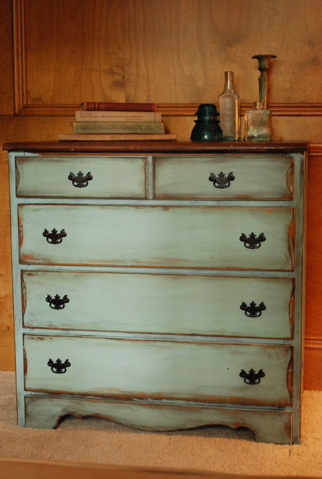 Between Blue And Yellow Petite Dresser