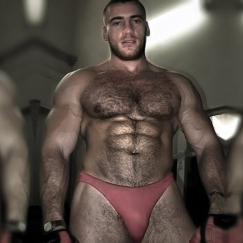 Think, that hairy muscle men photos 7619 are mistaken
